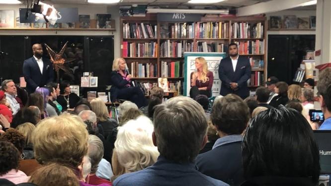 Stephanie Gregory Clifford, conhecida como Stormy Daniels, lança livro com detalhes sobre suposta relação com presidente Donald Trump Foto: Henrique Gomes Batista