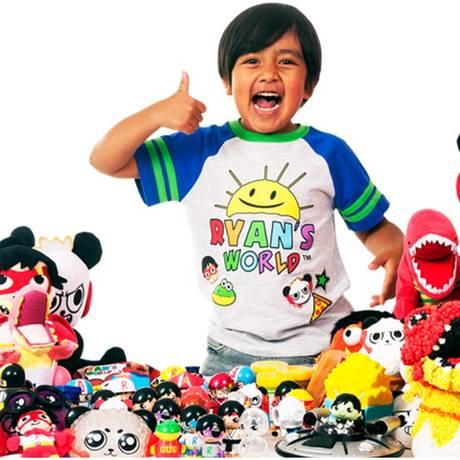 Ryan foi o youtuber que mais faturou no último ano Foto: Reprodução