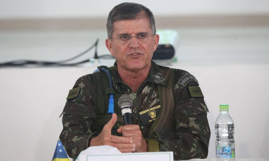 General Guilherme Theophilo, secretário nacional de Segurança Pública Foto: Antonio Cruz/Agência Brasil/07-11-2017