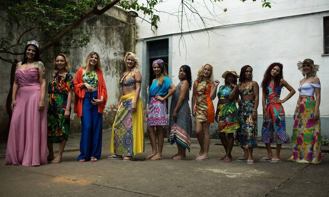 Detentas participam de concurso de beleza em penitenciária Foto: Brenno Carvalho / Agência O Globo
