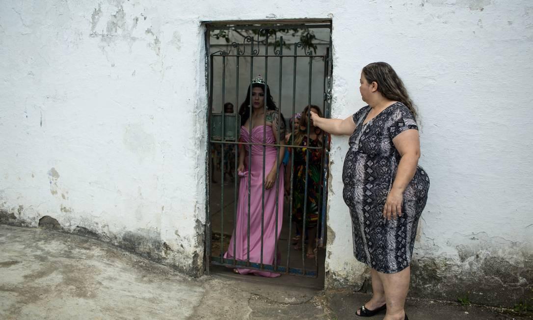 O Miss Garota Talavera Bruce ocorre no Conjunto de Presídios de Gericinó, Zona Oeste do Rio Foto: Brenno Carvalho / Agência O Globo