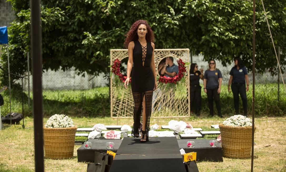 Michele Neri, ganhadora 3º lugar no concurso Foto: Brenno Carvalho / Agência O Globo