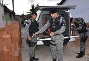 Suspeitos foram presos pela polícia no Alagoas nesta terça, 4 Foto: Divulgação / MP-AL