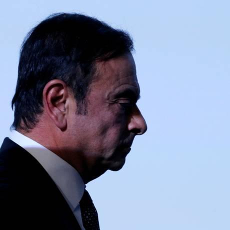 Carlos Ghosn: novas acusações à vista Foto: Regis Duvignau / REUTERS