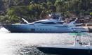 Iate Pershing SPA do empresário Eike Batista,modelo 115 Foto: Reprodução / Reprodução