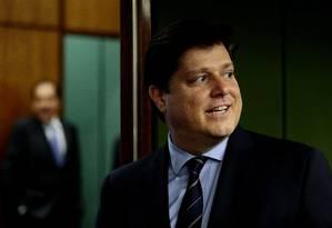 O líder do MDB, deputado Baleia Rossi, disse que não houve pedido formal para que o partido integre a base aliada Foto: Jorge William / Agência O Globo