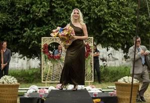 Verônica Verone venceu 1º lugar de concurso de beleza Foto: Brenno Carvalho / Agência O Globo