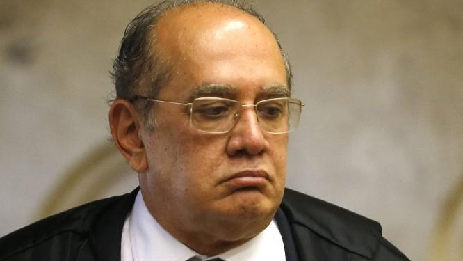 O ministro Gilmar Mendes do Supremo Tribunal Federal Foto: Jorge William / Agência O Globo