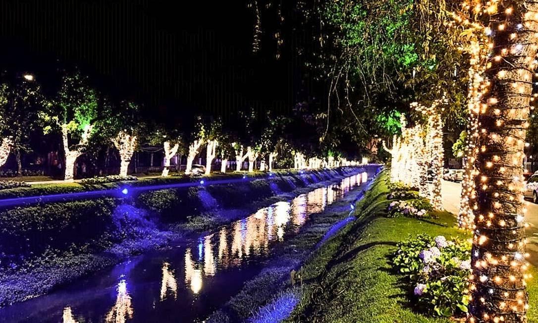Decoração de Natal em Petrópolis Foto: Divulgação