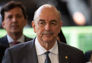 O futuro ministro da Cidadania, deputado Osmar Terra (MDB-RS) Foto: SERGIO LIMA / AFP 28/11/2018