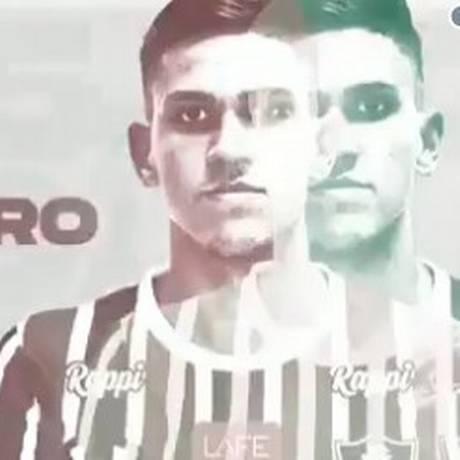 O top 5 dos gols de Pedro pelo Fluminense Foto: Reprodução/Twitter