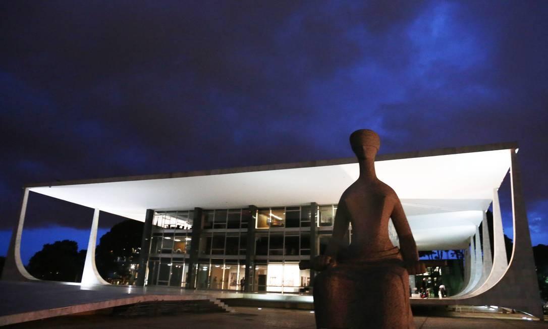 Sede do STF em Brasília Foto: Givaldo Barbosa / Agência O Globo