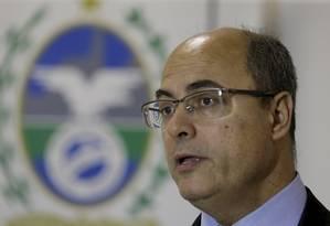 Wilson Witzel Foto: Marcelo Theobald / Agência O Globo