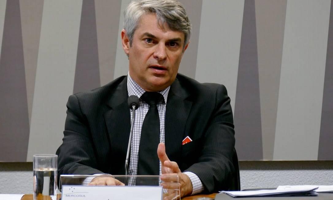 Novo secretário-geral do Itamaraty será o embaixador Otávio Brandelli Foto: Agência Senado
