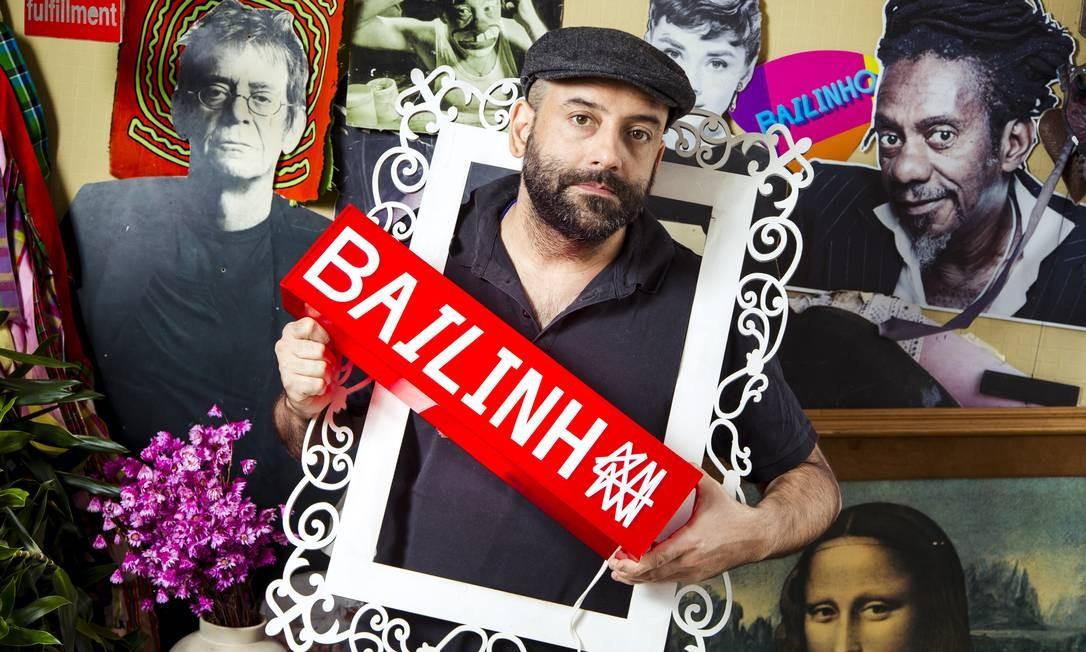 Rodrigo Penna produz o último Bailinho, que será uma divertida festa de réveillon, no MAM Foto: Leo Martins/ O Globo