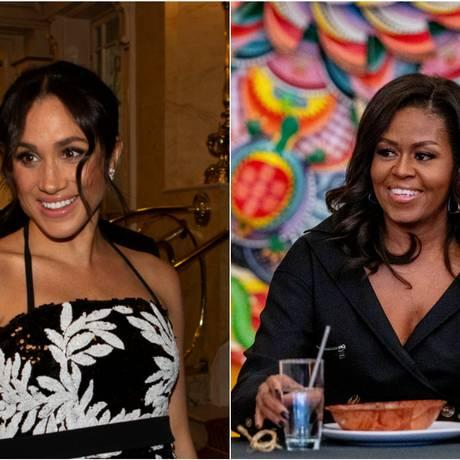 Meghan Markle e Michelle Obama Foto: Reuters