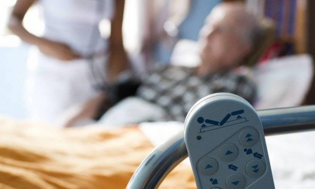 Home care foi orientação médica Foto: / Mônica Imbuzeiro -Agência O Globo