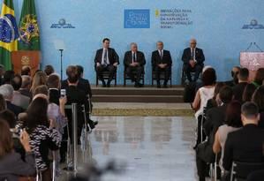 Cerimônia de Entrega do Prêmio Jovem Cientista no Palácio do Planalto Foto: Marcos Corrêa/PR