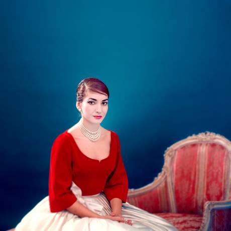 Maria Callas, em