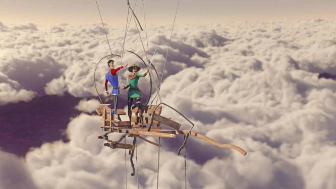 Cena da animação 'Encantado' Foto: Divulgação