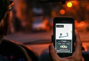 Forma de cadastramento de cartões para pagamento de Uber dá margem a fraude, diz Ministério Público Foto: Simon Dawson/REUTERS