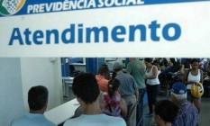 Posto de atendimento da Previdência Social Foto: Infoglobo