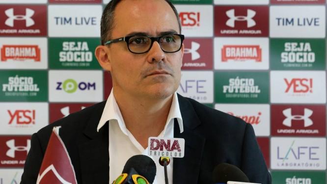 Pedro Abad tem que traçar o planejamento do futebol em meio à crise política Foto: Lucas Merçon/Fluminense