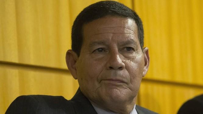 O general Hamilton Mourão, eleito vice-presidente da República. Foto: Edilson Dantas / Agência O Globo