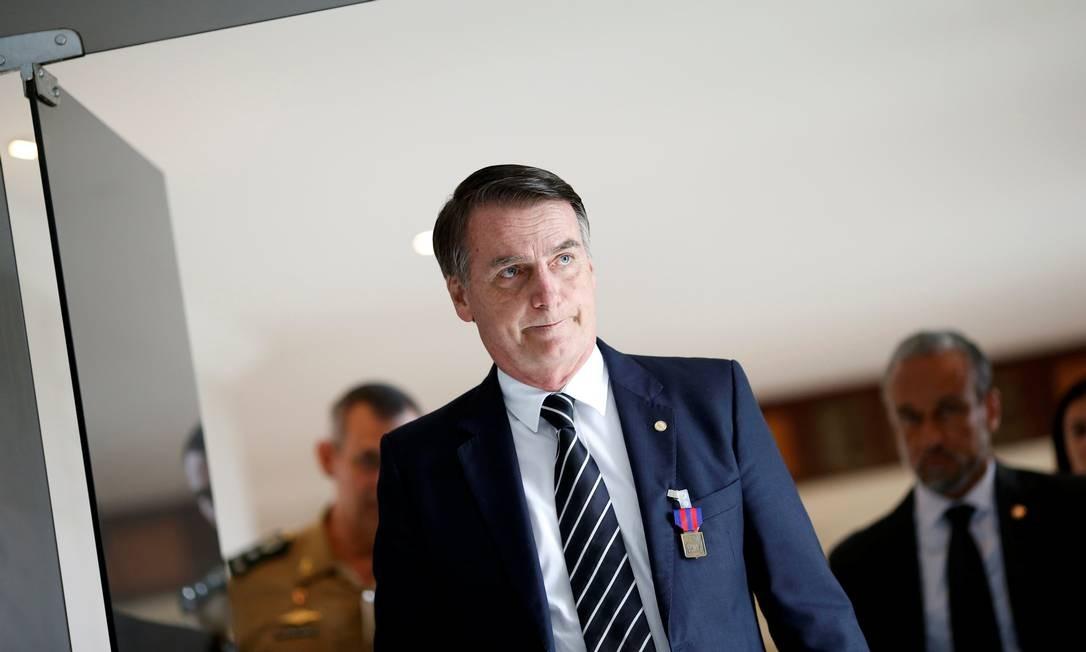 O presidente eleito, Jair Bolsonaro Foto: ADRIANO MACHADO / REUTERS