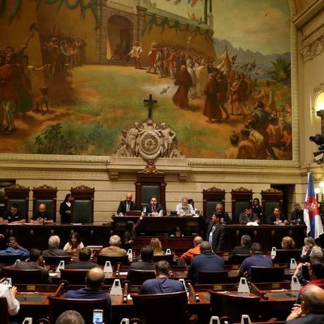Câmara dos Vereadores Foto: Fabiano Rocha / Agência O Globo