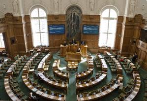 Palácio de Christiansborg, sede do Folketing, o Parlamento dinamarquês Foto: News Øresund – Johan Wessman/Wikimedia Commons
