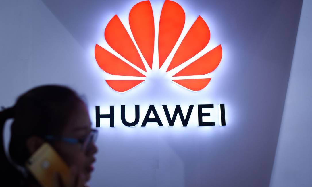 Huawei é uma das maiores fornecedoras de equipamentos e serviços de telecomunicações do mundo Foto: WANG ZHAO / AFP