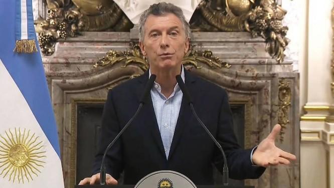 Presidente Mauricio Macri Foto: AFP