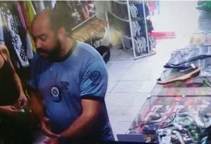 O miliciano Davi Liberato de Araújo Foto: Reprodução de vídeo