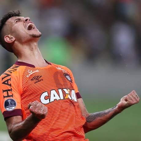 Bruno Guimarães é um dos destaques do Atlético-PR no ano Foto: RICARDO MORAES / REUTERS