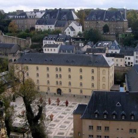 Vista da cidade baixa, em Luxemburgo Foto: Vivian Oswald / Agência O Globo/Arquivo