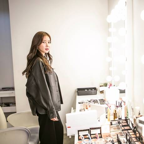 A atriz Im Soo-hyang faz parte do movimento