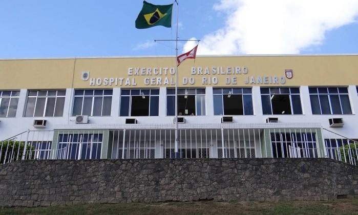 Hospital Geral do Exército no Rio de Janeiro Foto: Divulgação
