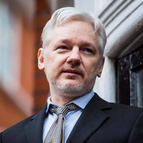Fundador do WikiLeaks, Julian Assange Foto: JACK TAYLOR / AFP