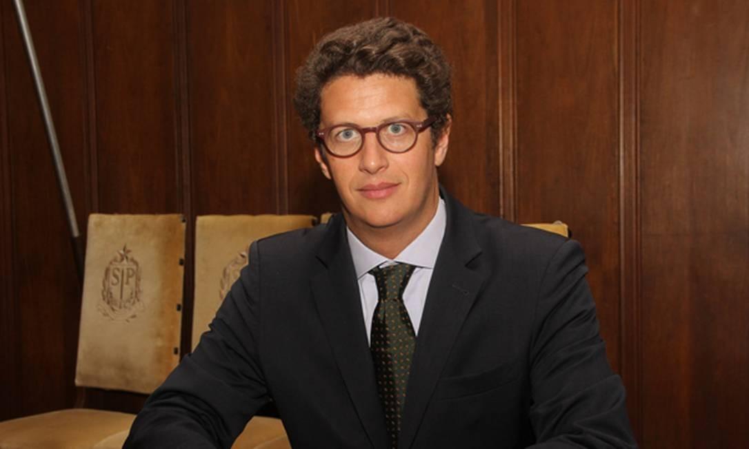 Ricardo de Aquino Salles, ex-secretário estadual do Meio Ambiente de SP, é cotado para assumir o Ministério do Meio Ambiente de Bolsonaro Foto: Divulgação