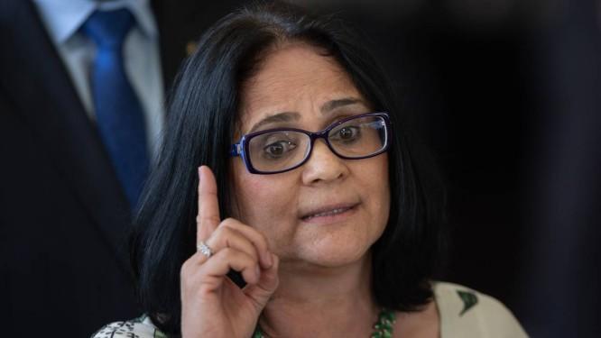 Damares Alves é pastora, advogada e assessora do senador Magno Malta Foto: SERGIO LIMA / AFP