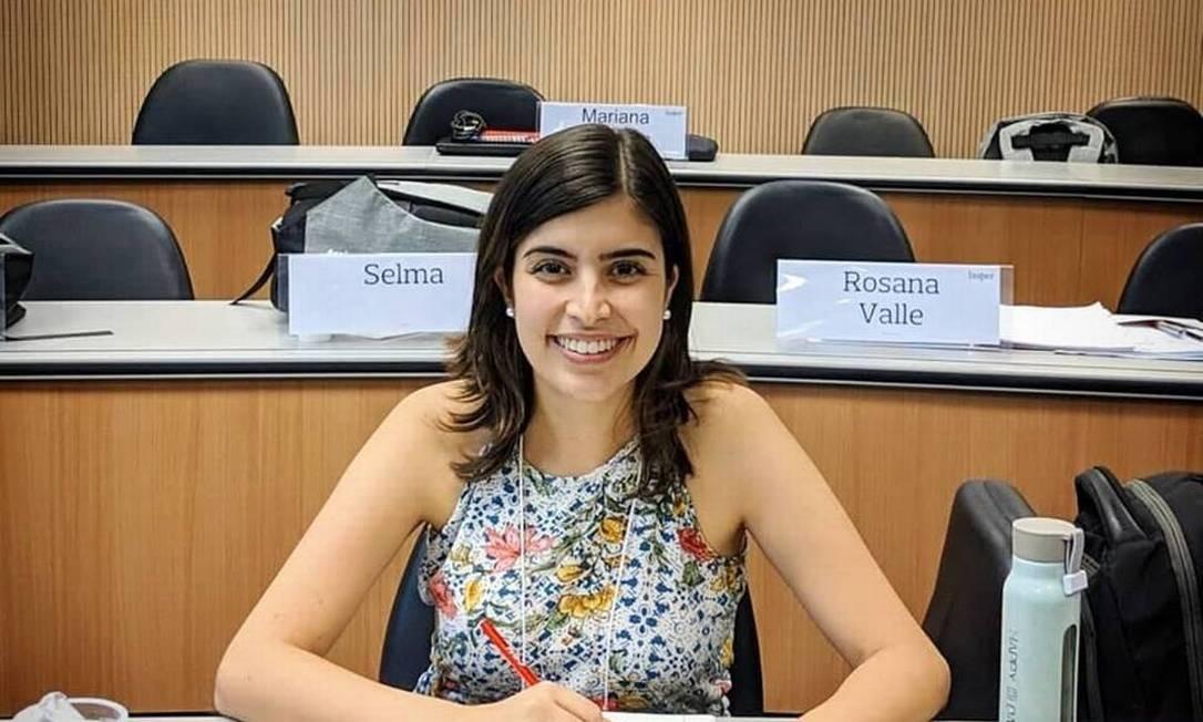 A deputada Tabata Amaral Foto: Reprodução / Facebook