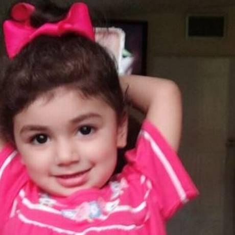 A menina Zainab, além de ter câncer, vai precisar de um transplante de medula óssea, o que exige transfusões de sangue Foto: Dibulgação OneBlood