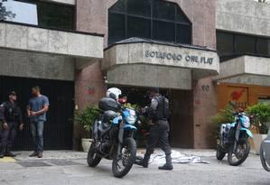 Suspeito é morto após tentativa de assalto em Botafogo Foto: Fabiano Rocha / Agência O Globo