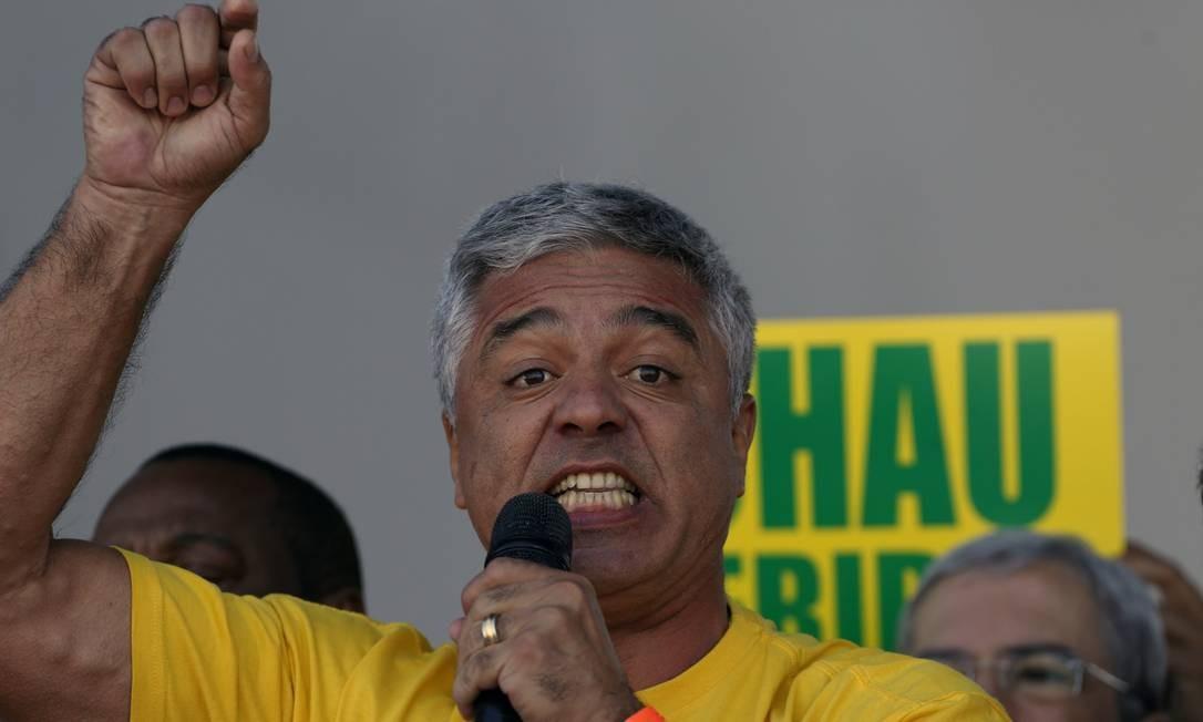 Olimpio: 'Não fui eu quem colocou Joice de líder do governo no Congresso' Foto: Edilson Dantas / Agência O Globo