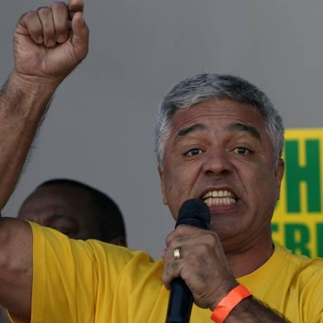 Major Olímpio (PSL) foi eleito senador por São Paulo Foto: Edilson Dantas / Agência O Globo (01/05/2016)