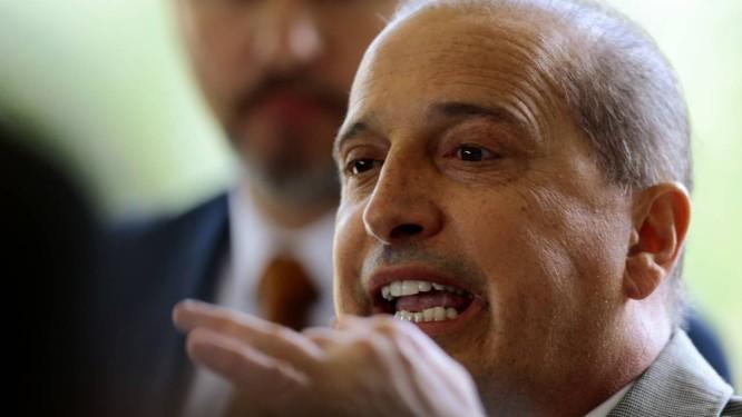 O novo ministro da Casa Civil, Onyx Lorenzoni. Foto: Jorge William / Agência O Globo