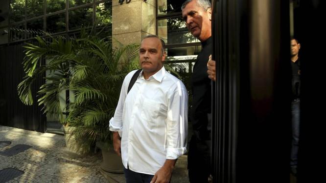 Prisão do ex-secretário do governo Sérgio Cabral Wilson Carlos Cordeiro, em sua casa na Gávea. Foto: Gabriel de Paiva / Agência O Globo 17/11/2016