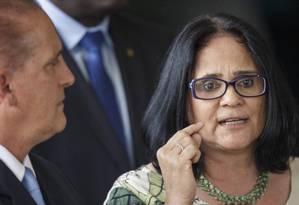 Damares Alves, futura ministra da pasta Mulher, Família e Direitos Humanos Foto: Daniel Marenco / Agência O Globo