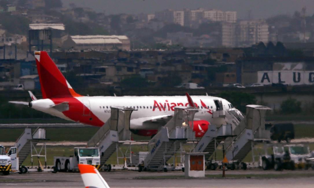 Medida poderá ajudar a Avianca, que pediu recuperação judicial. Foto: Fabiano Rocha / Agência O Globo